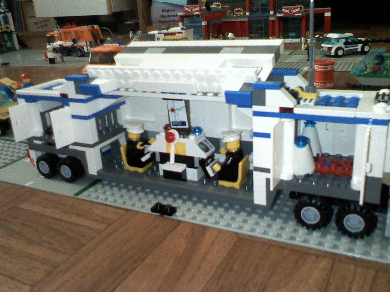7743 le camion de police for Laporte city police