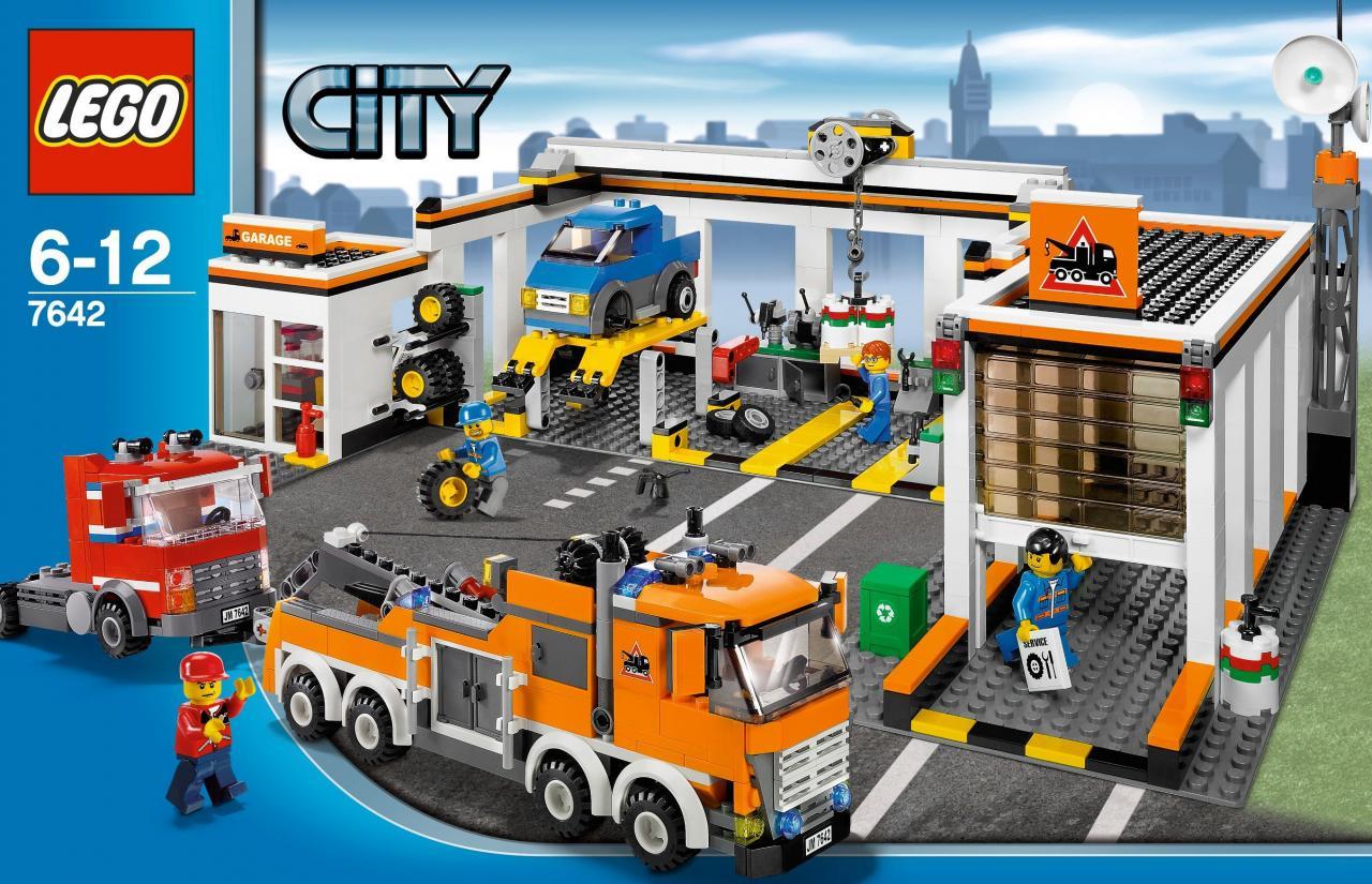 7642 le garage - Camion de police lego city ...