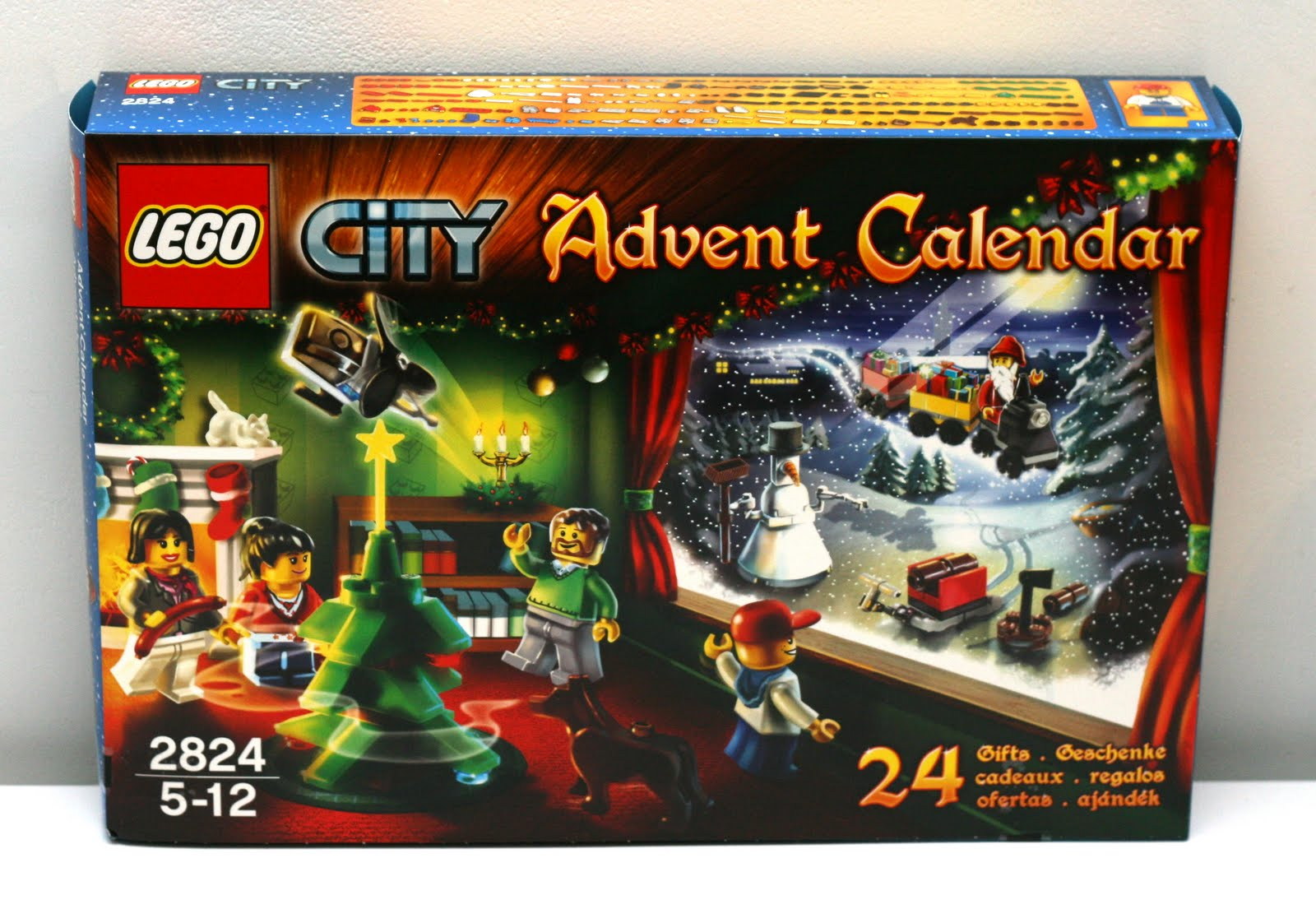Calendrier Avent Lego City.2824 Calendrier City 2010